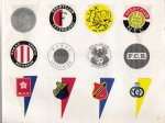 1972 Voetbal club stickers