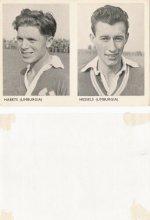 Portretten spelers 1e klasse 1956