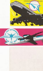 Aero stickers, 1973