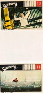 Superman II , stickers ,1980